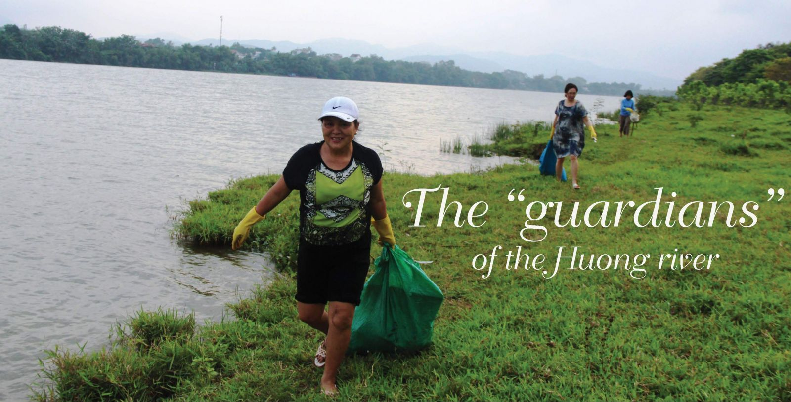 "The ""guardians"" of the Huong river"