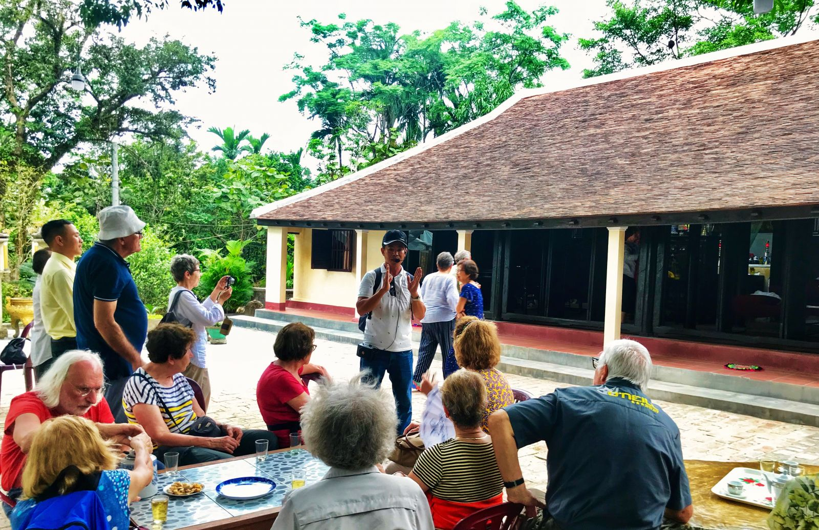 Ruong house in Phuoc Tich attracting guests