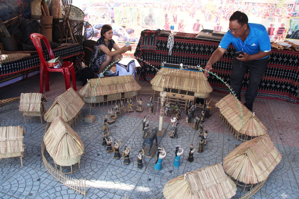 Cultural space of Co Tu ethnic people from Quang Nam is quite impressive