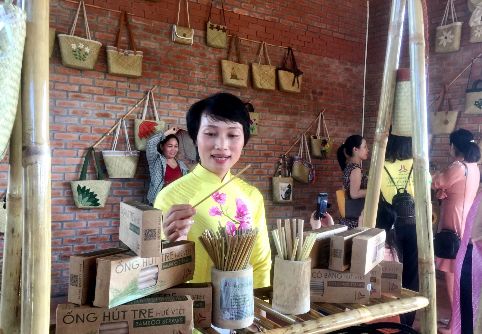 … and bamboo straws. All of the above-mentioned products are made from natural and eco-friendly materials.