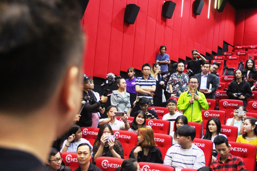 The film crew visited some cinemas to interact with the audience, where many questions were asked directly by the audience to the film crew, actors.