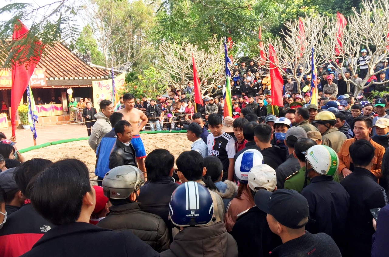 With its unique features, Thu Le wrestling festival has always attracted a great number of people