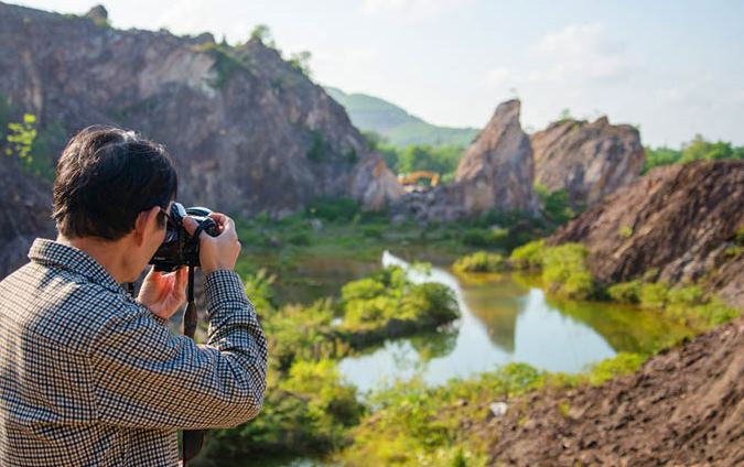 Huong An stone quarry has recently been sought by backpackers