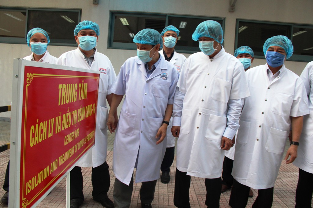 Hue Central Hospital 2 has the ability to admit and treat 500 people, and can expand the capacity to 1,000 people