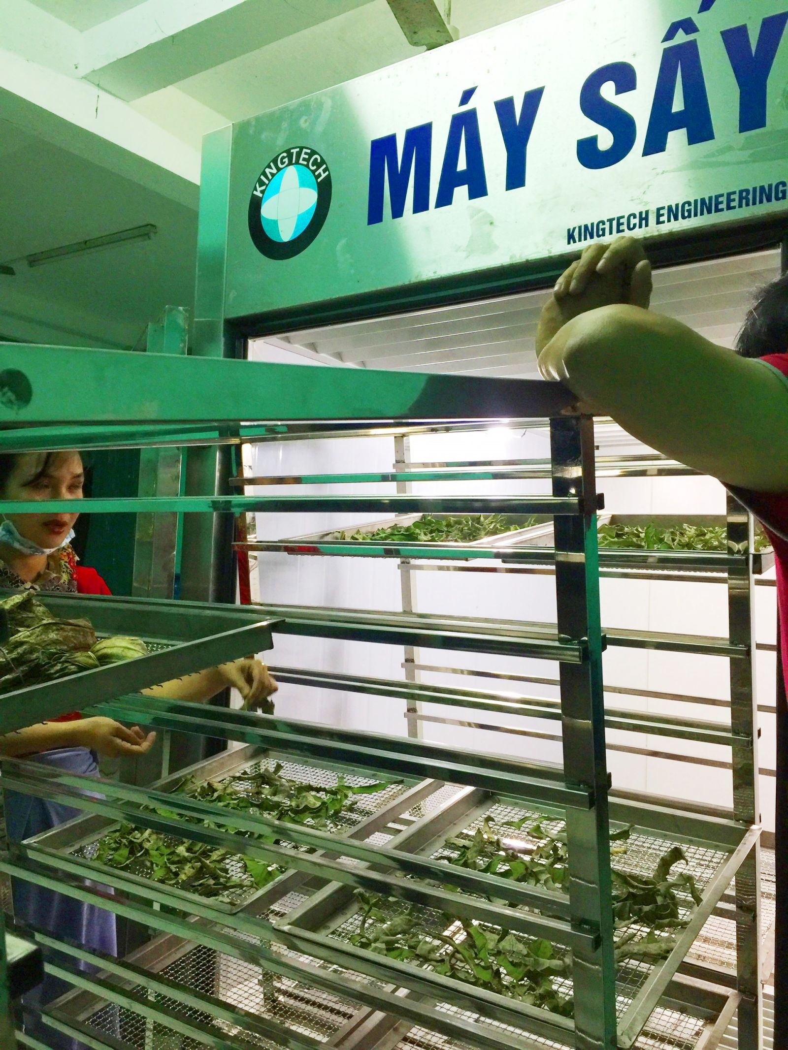 According to Ms. Dieu Huyen, the freeze-drying food method will help Hue lotus products to be available in all 4 seasons in a year with the almost unchanged quality