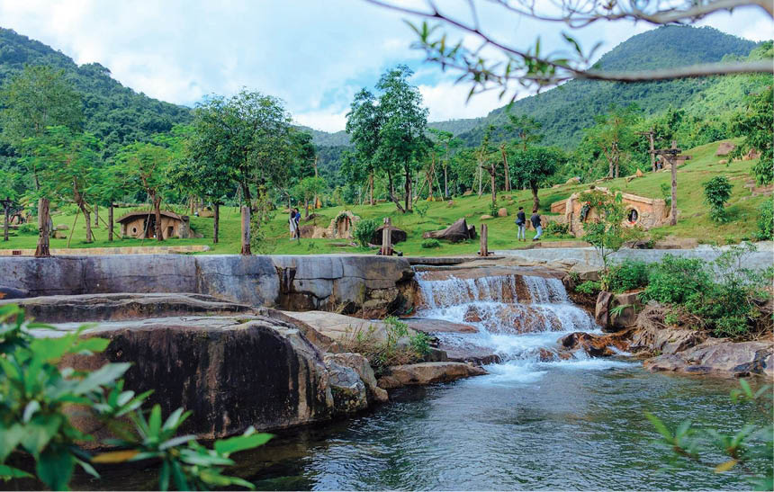 Bach Ma Village is a destination not to be missed recently