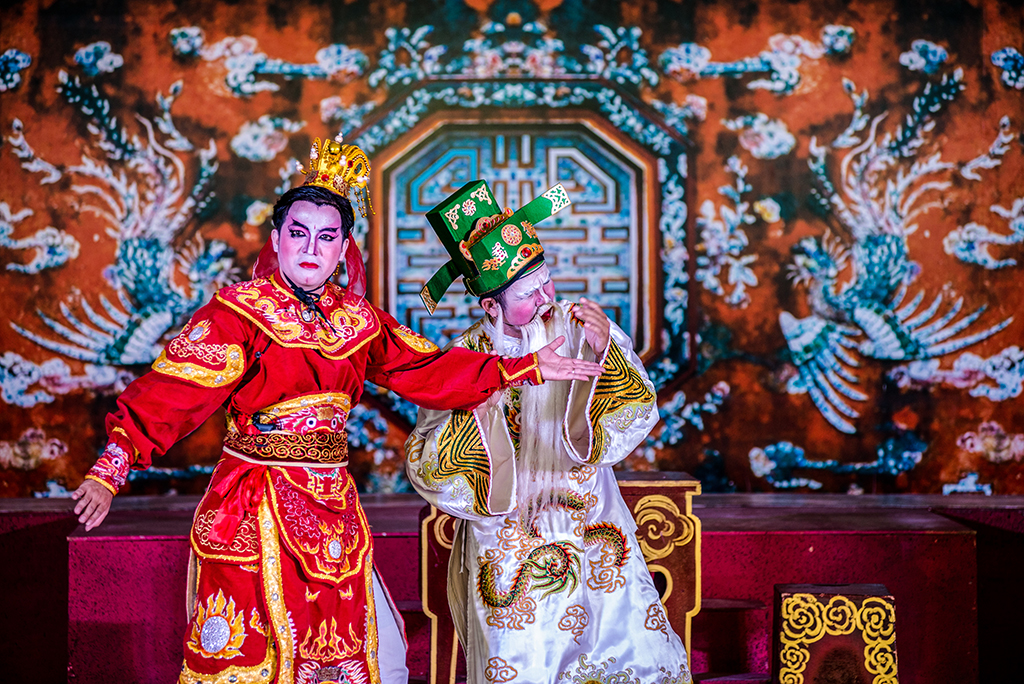 The extracts of ancient Tuong Singing have been being researched and preserved