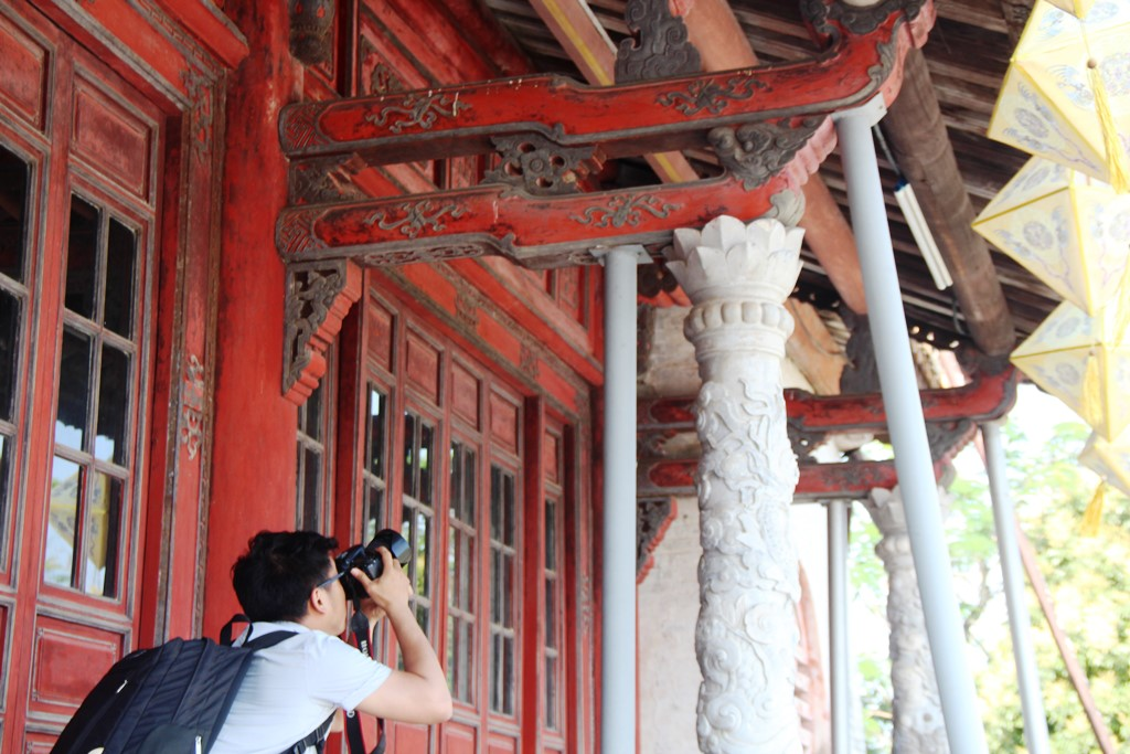 As time goes by, Thai Hoa Palace – the most important one inside Hue Imperial Citadel, being deteriorated and damaged
