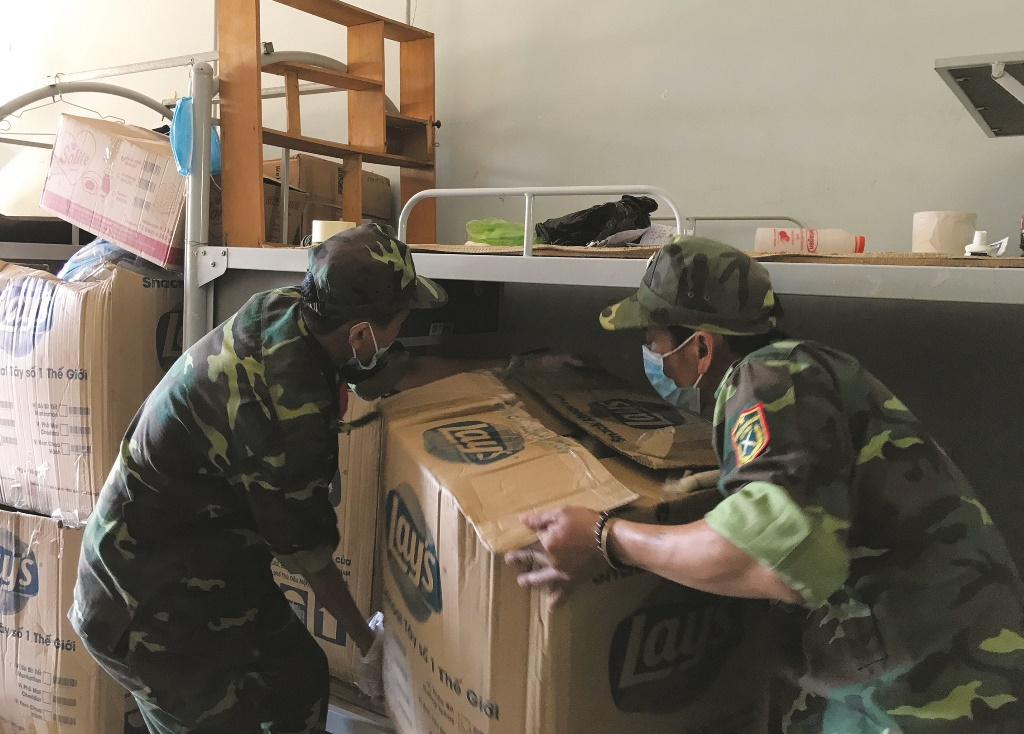 Preparing material facilities to serve people in their quarantine time