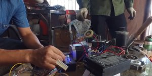 3D printers made from recycled materials