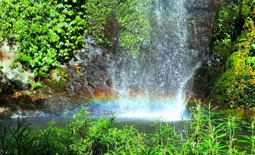 Unique Rainbow waterfall