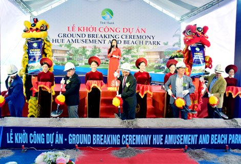 Commencement of tourism project with total investment of VND 1,000 billion