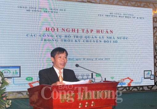 Thua Thien Hue: Training on state management of digital transformation