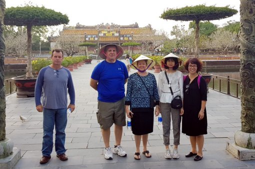 U.S. Famtrip team to Hue in look for future tourist routes