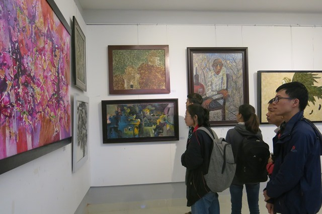 Showcase of 48 new artworks at Hue College of Arts