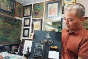 Late Ton That Dao's art gallery revived