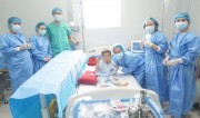 Hue Central Hospital conducting autogolous stem cells transplantation to pediatric patient with neuroblastoma