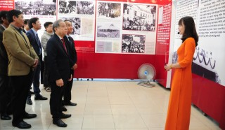 """Exhibition """"90 years under the glorious flag of the Party"""" opens"""