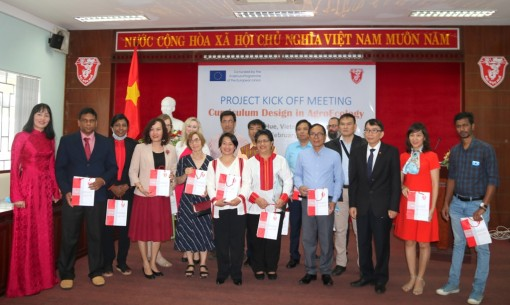 Hue university coordinates the ERASMUS+ Capacity Building for Higher Education Project for the first time