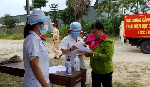 Medical declaration system to be activated at the website huecity.vn