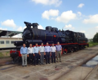 Steam train will operate on the route Hue - Da Nang