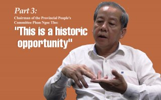 """Relocation of households in Hue Citadel Zone 1: History and Sentiment - part 3:Chairman of the Provincial People's Committee Phan Ngoc Tho: """"This is a historic opportunity"""""""