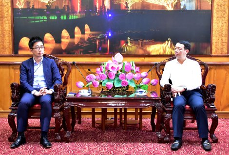 Thua Thien Hue cooperates with Japanese company to develop information technology