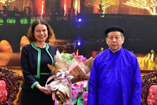 Australia supports Thua Thien Hue in building e-Government