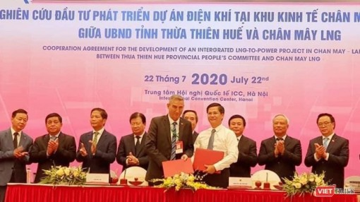 USD 6 billion invested in liquefied natural gas power project in Chan May-Lang Co economic zone