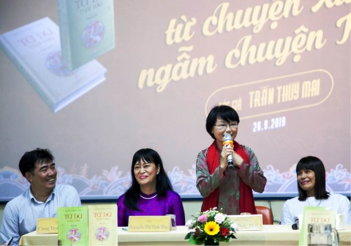 "Tran Thuy Mai: ""One will meet the reader if one reaches the end of his passion."""