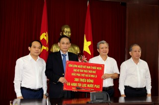Overseas Vietnamese community share difficulty with Thua Thien Hue