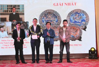 Honoring artisans and awarding prize for the Handicraft Product Design Contest