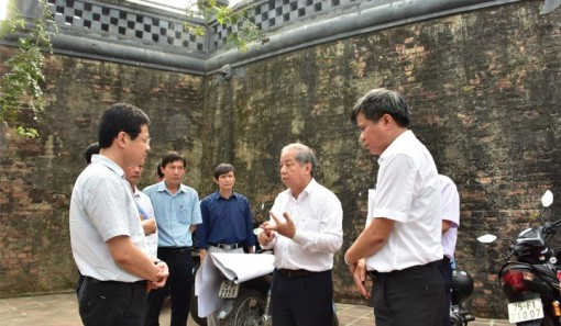 Taking Ho Quyen - Voi Re relics into operation soon to serve tourism