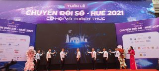 Hue City: Zone of experiencing and displaying solutions of Digital transformation opened