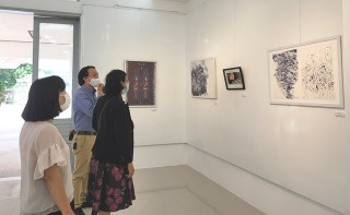 "Fine arts exhibition themed ""Dialogue"""